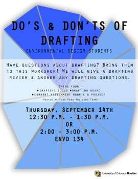 ACE Workshop 2 Drafting Poster